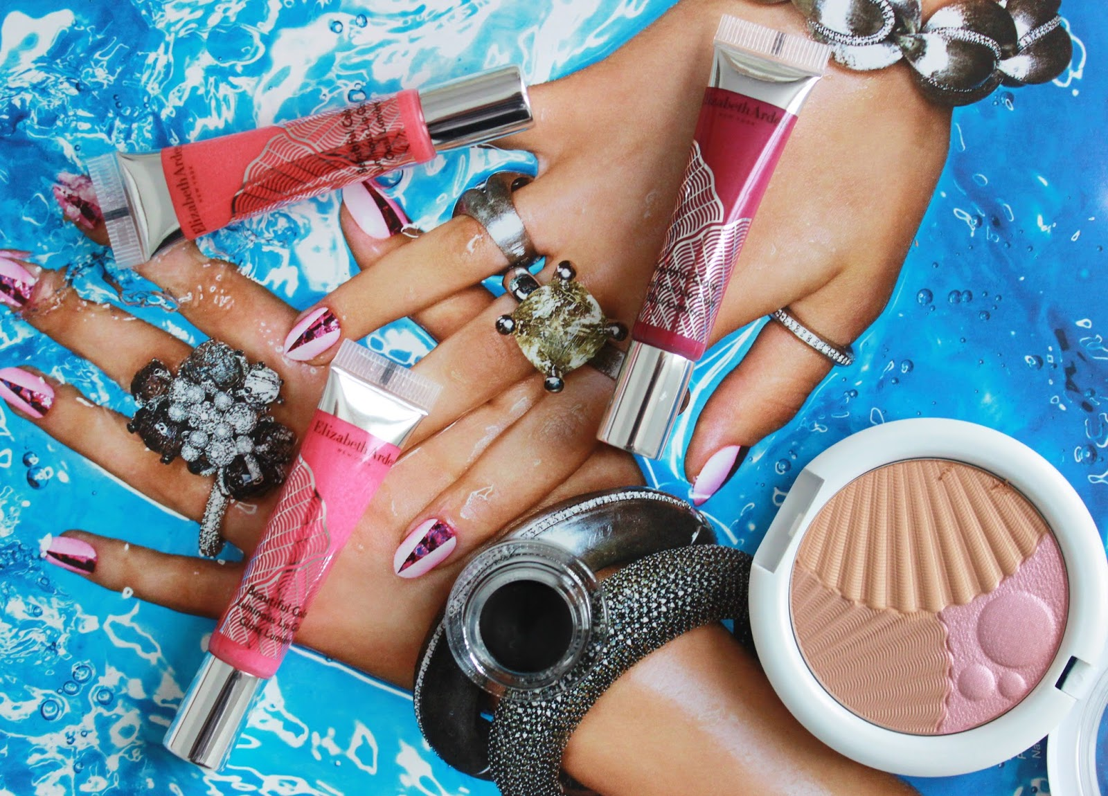 Elizabeth Arden Sunkissed pearls ss15 makeup range