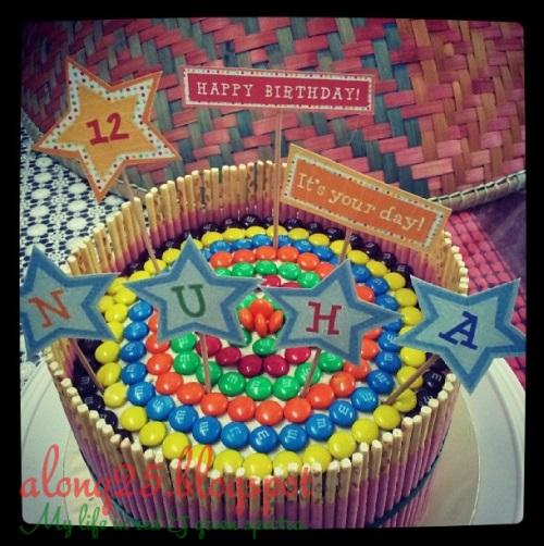 rainbow cake sedap murah order bangi putrajaya untuk sekolah