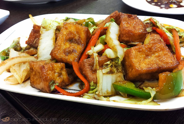 Tofu with Mixed Veggies of Hainanese Delights
