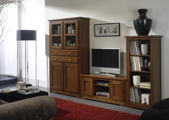 Muebles de madera maciza roble comedores y livings - Muebles de madera de diseno ...