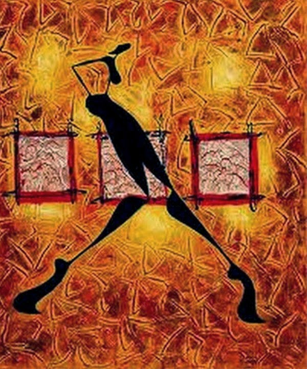 pinturas-modernas-con-africanas