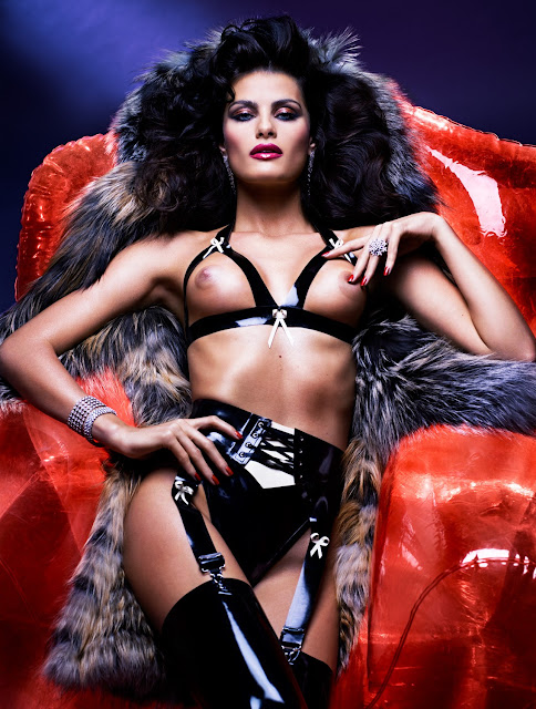 Adriana Lima Topless in V Magazine