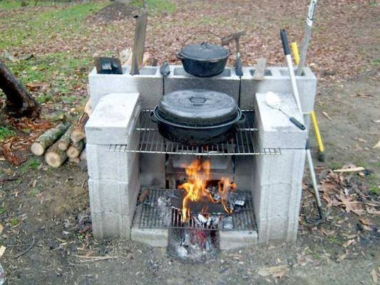 Reciclar reutilizar y reducir fant sticas ideas para - Barbacoa de hormigon ...