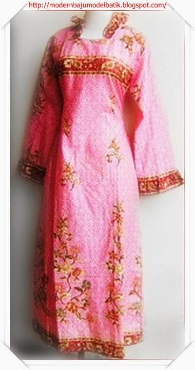 Edisi Wanita Dan Baju Muslim Model Baju Batik Gamis