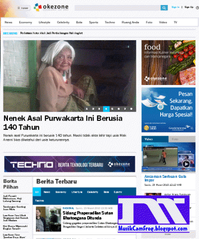 daftar situs berita online indonesia okezone.com