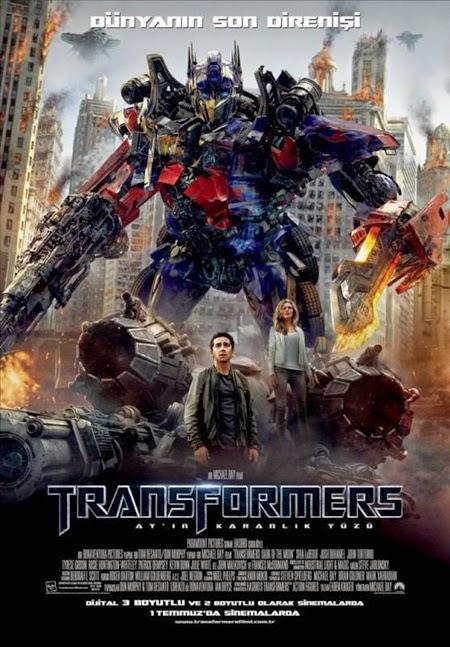 Transformers: Dark of the Moon - Transformers 3: Ay'ın Karanlık Yüzü 2011 poster