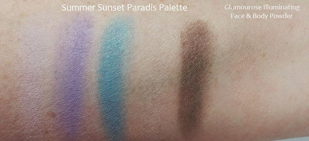 Lise Watier swatches