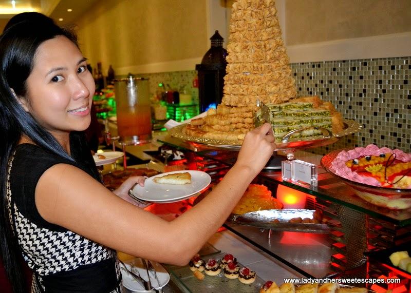 Lady at Millennium Plaza Hotel Dubai