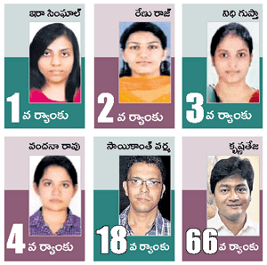 UPSC Civil Services Toppers 2015 Rank wise