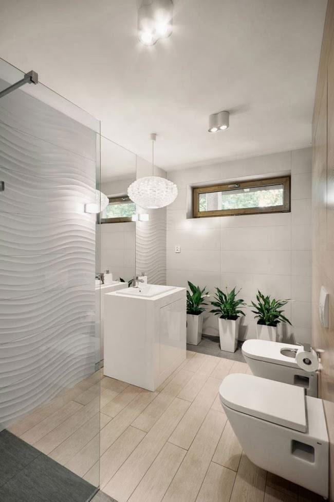 Baños Minimalistas Imagenes:En un baño minimalista los muebles deben ser de diseño simple y