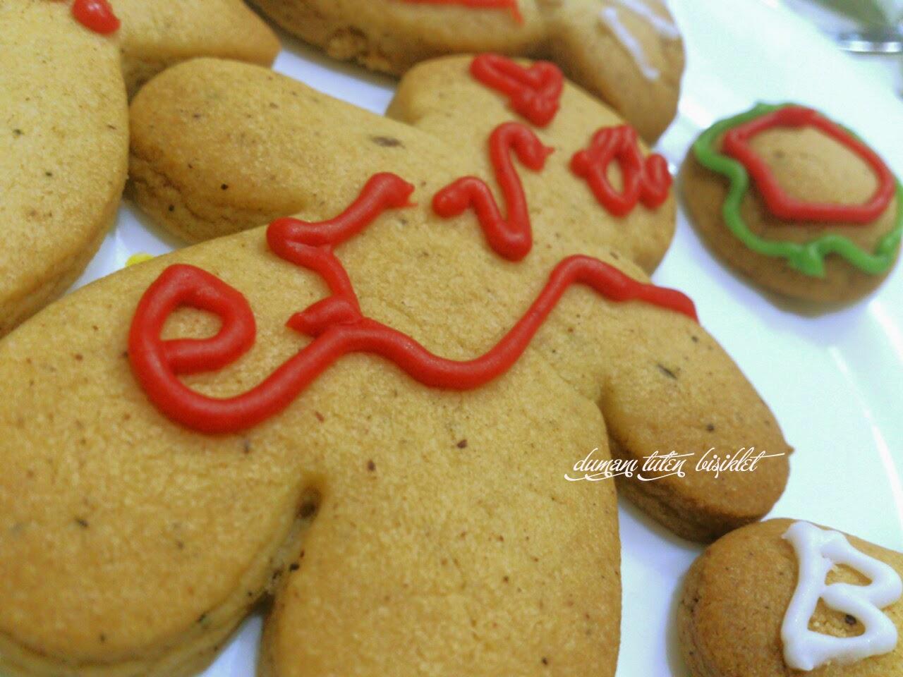 tarçınlı zencefilli kurabiye yılbaşı kurabiyesi