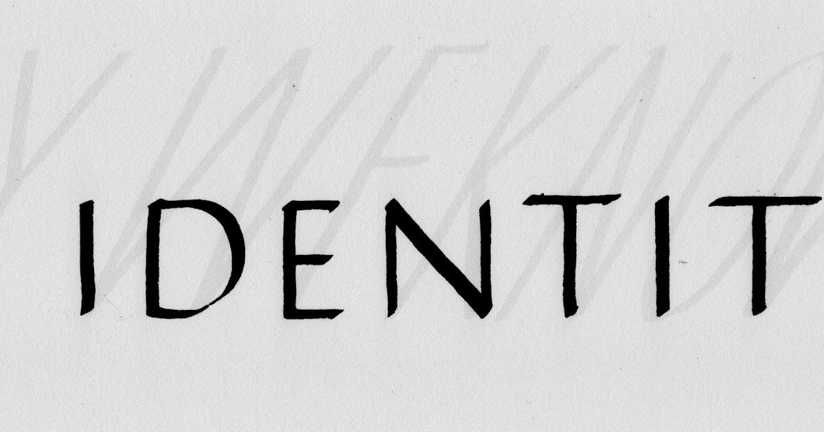 Margaret Shepherd: Calligraphy Blog: 221 Secret identity/Nobody we ...
