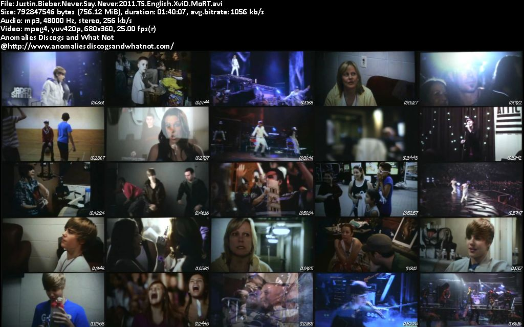 justin bieber never say never 2011 brrip. Justin Bieber Never Say Never