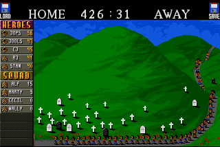 Cannon Fodder Amiga games hill graves