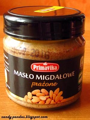 Masło migdałowe prażone - Primavika