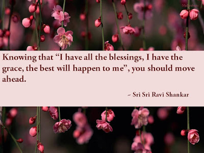 Quotes on Gratitude by Sri Sri Ravi Shankar