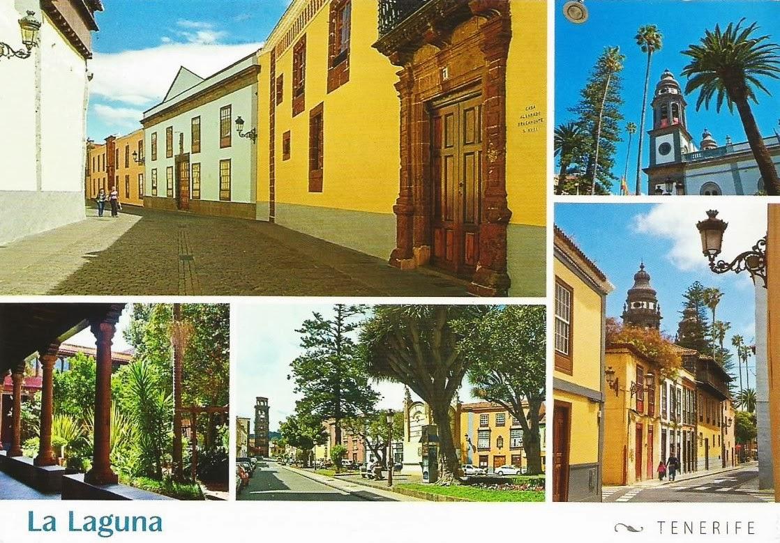 Postcards on my wall san crist bal de la laguna spain - Century 21 la laguna ...