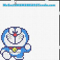 hama beads mini doraemon4