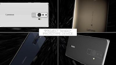 Google dan Lenovo Umumkan Kerja Sama Produksi Smartphone Project Tango