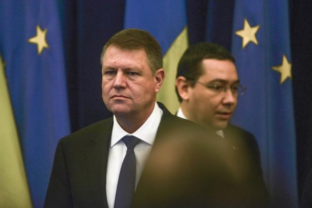 Victor Ponta, Klaus Johannis, Románia, Ponta-Johannis konfliktus, Gabriel Oprea,