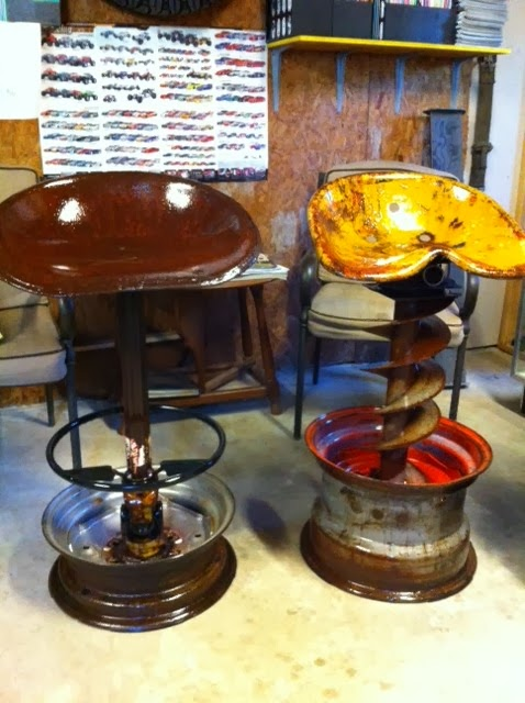 Peck S Customs Bar Stools So Cool