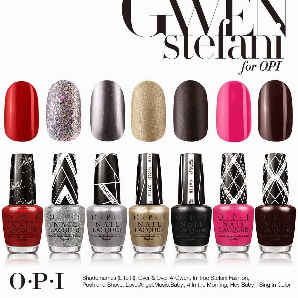 ChicaBoomChip @ blogger.com: Gwen Stefani for OPI : Edición Limitada ...