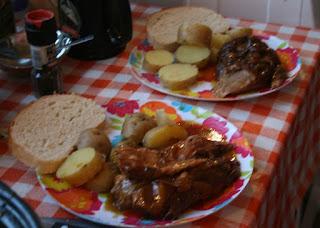 Amazing pork dinner