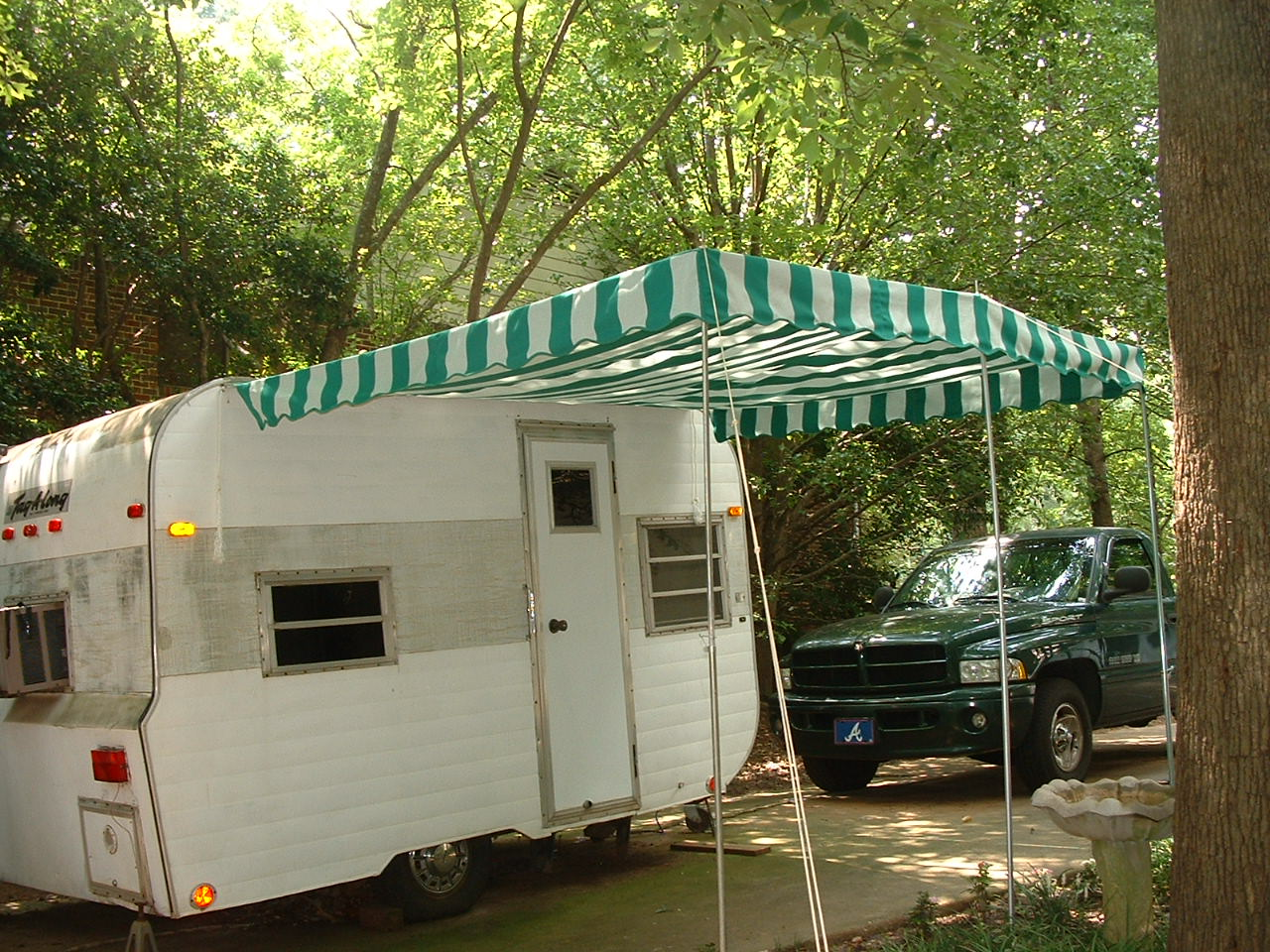 Vintage Trailer Awnings - Free Ass Video