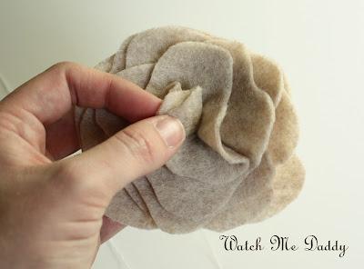Шарфик из войлока - идея для воплощения
