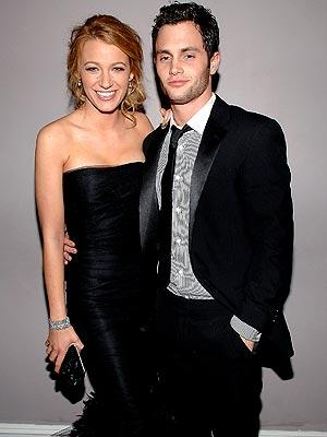 Blake Lively Penn on Hollywood Hottest Wallpapers  Blake Lively And Penn Badgley 2009
