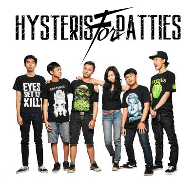 Hysteris For Patties Band Post Hardcore Bandung Foto Personil Logo Font Wallpaper