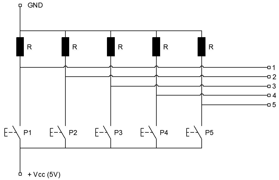 Schema Collegamento Nv10p : Arduino projects schema di collegamento degli ingressi