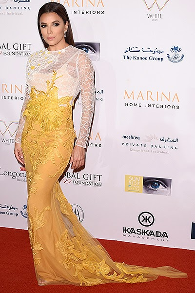Eva Longoria at the International Film Festival in Dubai