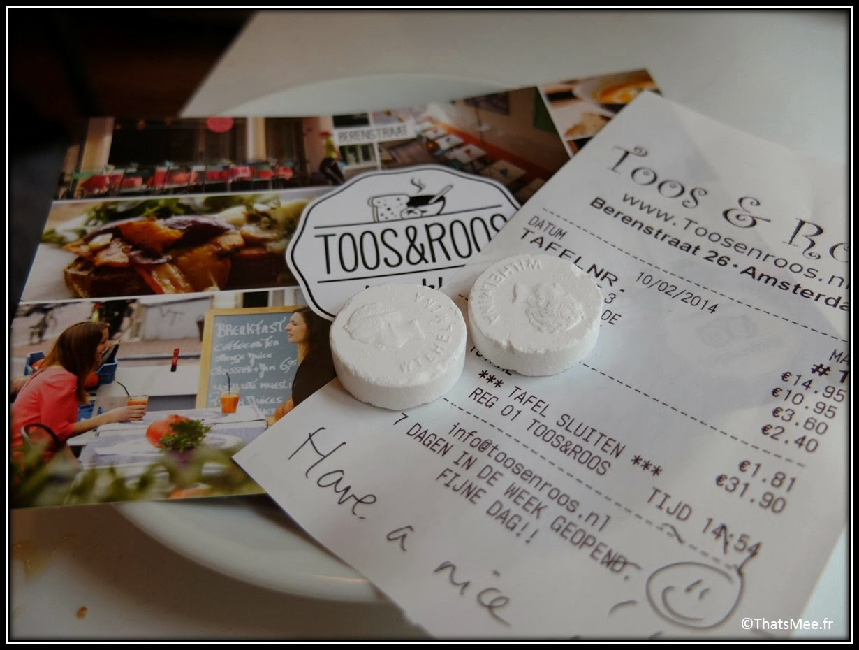 Toos & Roos, Amsterdam, Best Soup in Town addition bill smiley