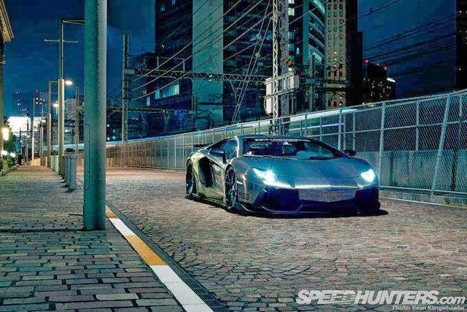 Lamborghini Aventador Tunada