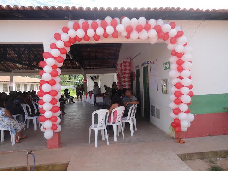 U.E. Hilton Leite de Carvalho, festa em homenagem as mães,maio 2011.