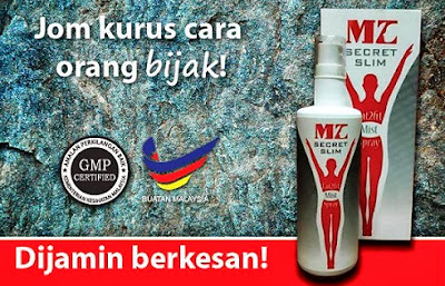 MZ SECRET SLIM FAT2FIT SPRAY GERENTI KURUS