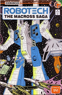Front cover of Robotech: The Macross Saga #5 from Comico