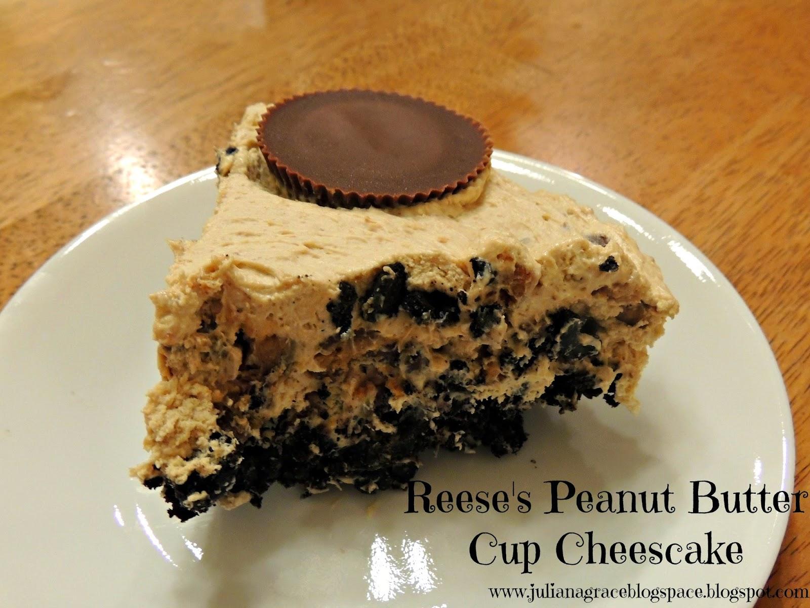 Gluten Free Reese's Peanut Butter Cheesecake Pie