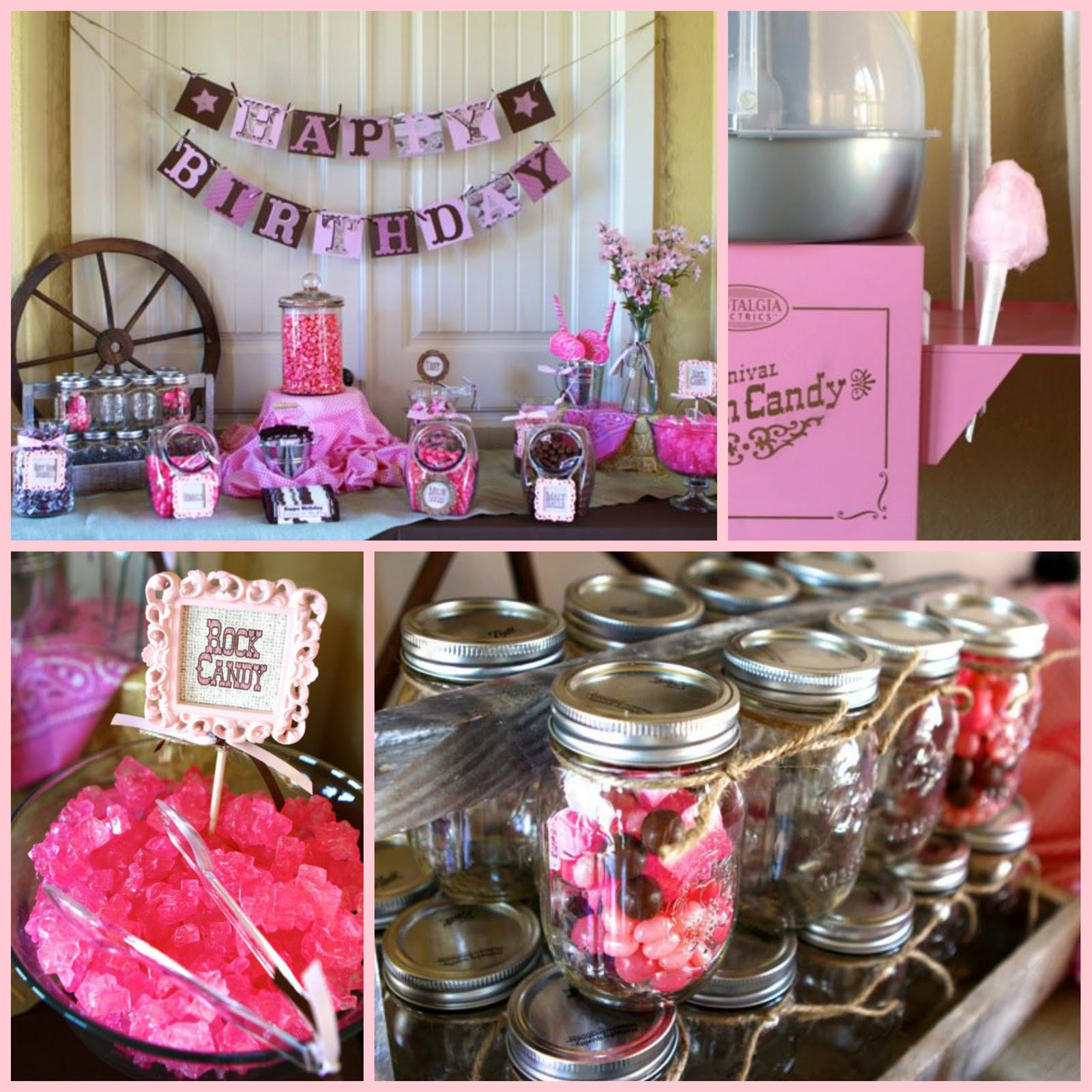 tini posh cowgirl country style birthday parties and baby showers