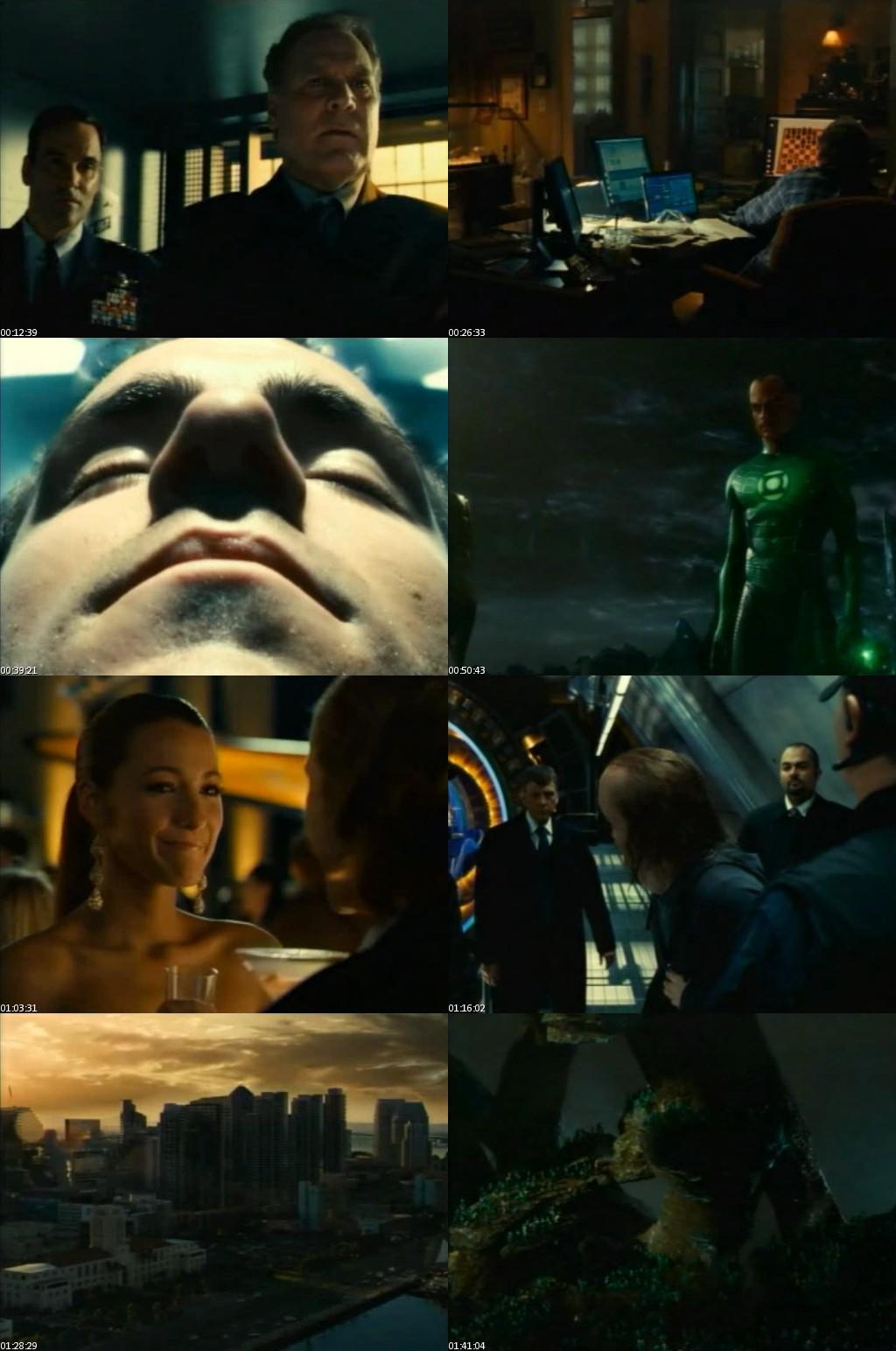 Green Lantern (Linterna Verde) (2011) [VHScreener] [Español]