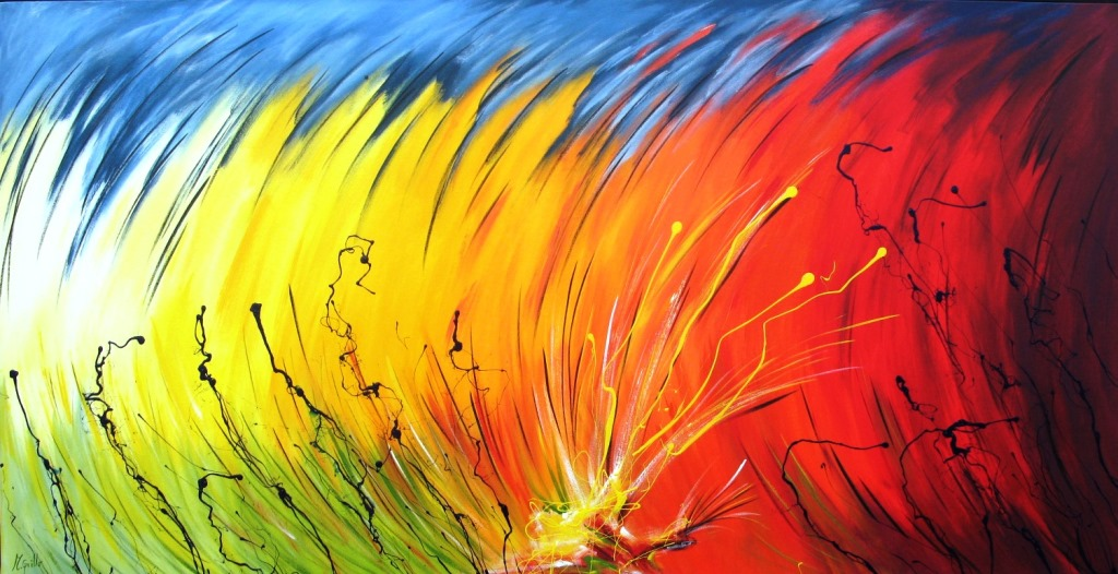 Pintura moderna y fotograf a art stica pinturas for Fotos cuadros abstractos modernos