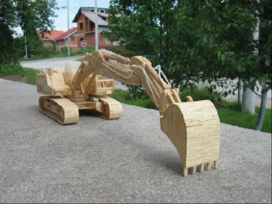 Wooden Realistic Vehicles