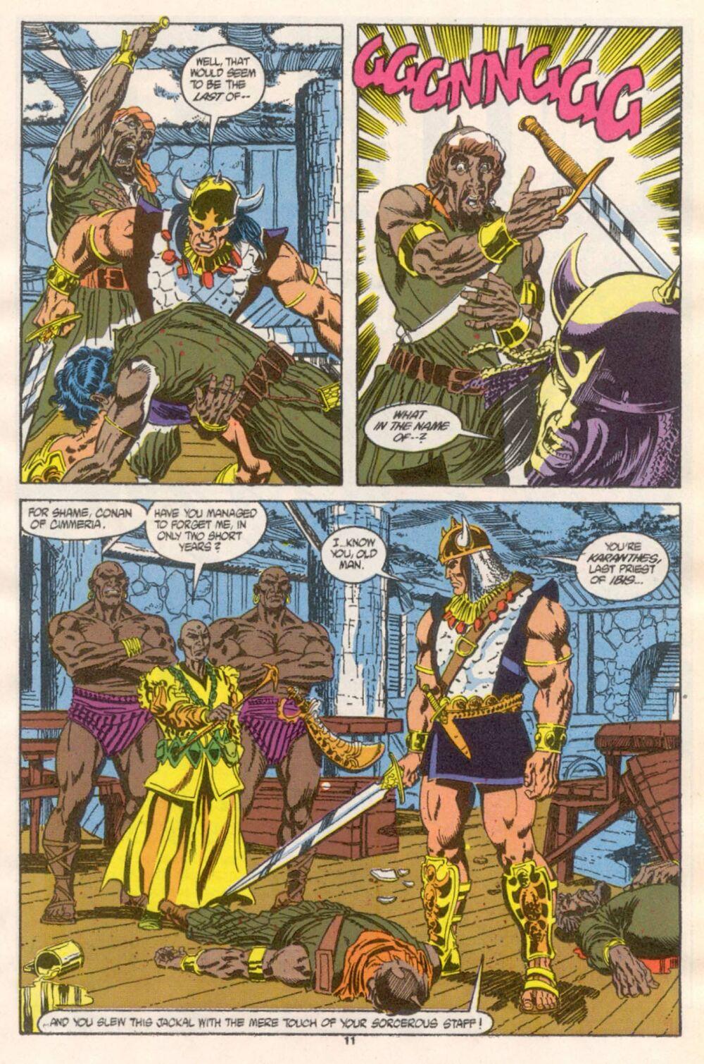 Conan the Barbarian (1970) Issue #241 #253 - English 9