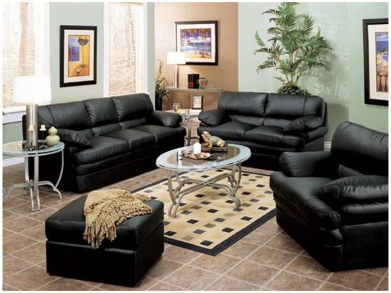 ashley-furniture-leather-and-fabric-living-room-sets