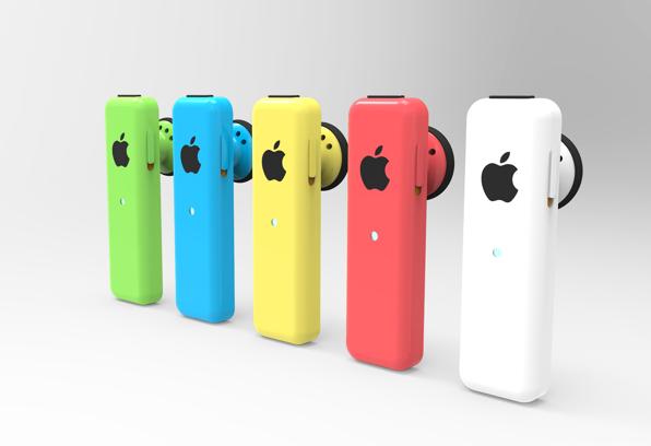 Tai nghe bluetooth phong cách iPhone 5C, ảnh 1