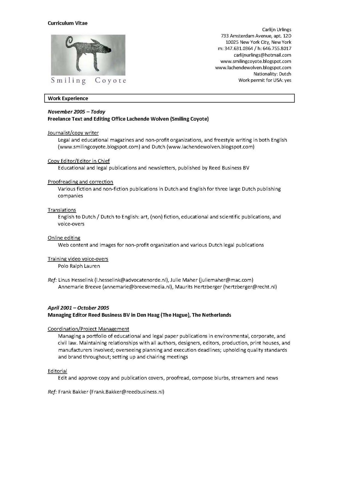 Best Curriculum Vitae Proofreading Website For College