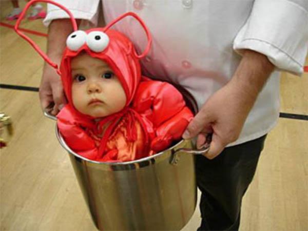 Cangrejo disfraces para niños - Imagui