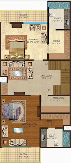 Amrapali Dream Valley :: Floor Plan