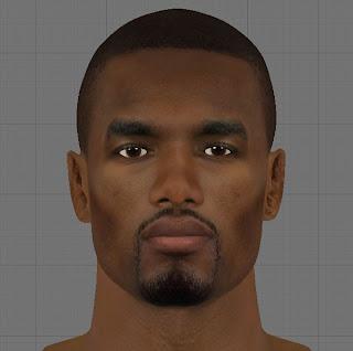NBA 2K13 Serge Ibaka HD Cyber Face Mod